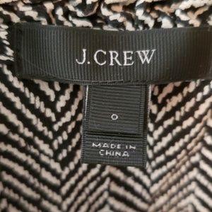 J. Crew Tops - J. Crew Sleeveless Blouse Zebra Black/White